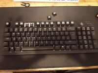 Coolermaster Quickfire TK Mechanical Keyboard W/Cherry MX Brown Switches