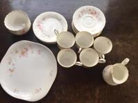 Pretty Bone China tea set
