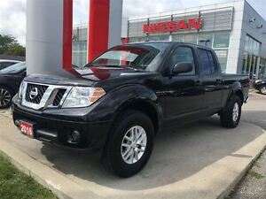 2016 Nissan Frontier SV 4X4 CREW, BLUETOOTH, USB, STREAMING AUDI
