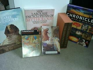 Mythology books