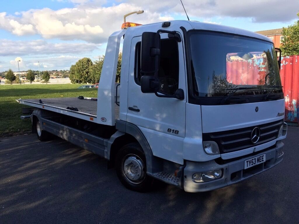 Mercedes benz atego recovery truck tilt slide spec lift for Mercedes benz truck models