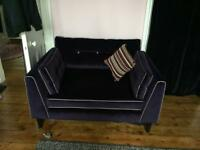 Purple cuddle chair large armchair