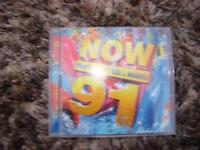 Now that's what I call music 91, double cd set. VGC. £2.50. Torquay or can post.