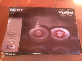 Sony XS-F693G 3way car speakers