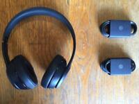 Beats Solo 3 Wireless Headphones Black *With Box, Unused*