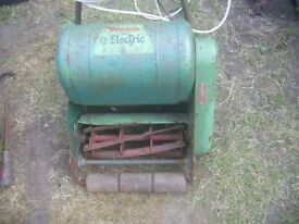 Webb Electric propelled 12inch lawn mower fully working with extra long cable