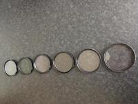 Camera filters lot of 6