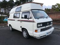 1991 VOLKSWAGEN CAMPER T25 ALL MAJOR CARDS ACCEPTED