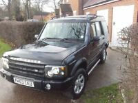 Landrover discovery td5 7 seats low mileage for its age
