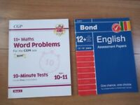 11+ Practice Papers – Bond English & CGP Math Word Problems