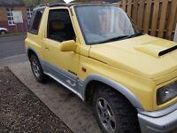 Suzuki vitara jx u soft top