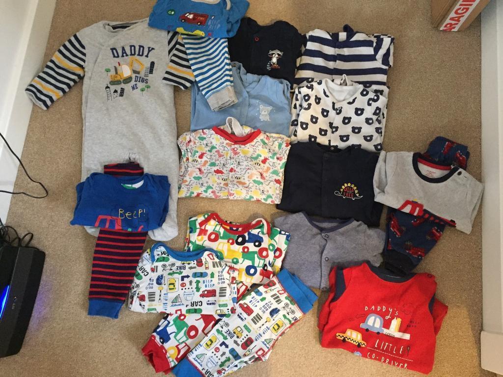 6e9567849 Baby Boys pyjamas   Sleepsuit bundle 6-9 months