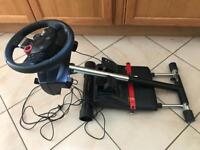 PS3/PC Logitech wheel and Wheel Stand Pro