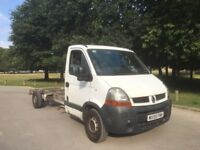 RENAULT MASTER CHASSIS CAB 2.5 TDi, LWB, 2006 55-REG, LUTON/RECOVERY/DROPSIDE CONVERSIONS..!! NO VAT