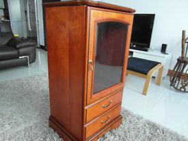 Rosewood hi fi cabinet