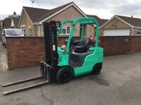 **** SELECTION OF FORKLIFTS DIESEL ,GAS ,ELECTRIC PRICE STARTS £1500 **** CAN DELIVER OR LOAD ****