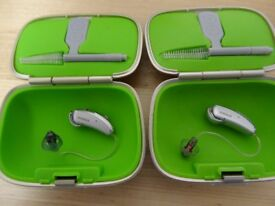 Phonak V70 Hearing Aids Mint Cond