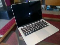 Screen Only. 13 Macbook Pro 13 Retina Used Replacement Screen Early 2013 (not whole machine!)