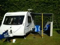 Caravan veranda for sale 3 m long blue and grey