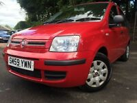 *GREAT VALUE*12 MONTHS WARRANTY*2010 FIAT PANDA 1.2 DYNAMQUE 5DR WITH ONLY 55K MUST BE SEEN*