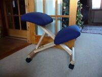Kneeling Chair...hardly used ..wood from sustainable forest