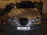 jaguar s type 3ltr v6 1999 one owner full mot