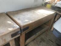 Large Butchers Block Table