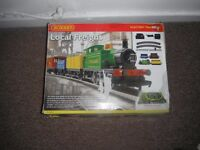 hornby . local freight electric train set . collectible train set , £45,00