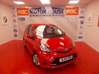 Toyota Aygo VVT-I MOVE WITH STYLE(FREE MOT'S AS LONG AS YOU OWN THE CAR!!!) (red) 2014