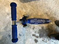 Blue Mini Micro Scooter (2-5yrs)
