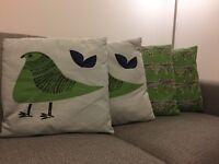 Habitat cotton cushions