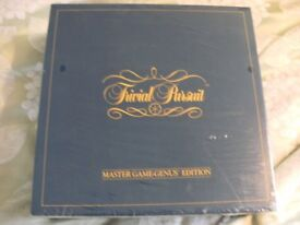 VINTAGE TRIVIAL PURSUIT GENUS EDITION (Sealed Brand New & Boxed)