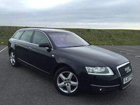 LOW MILEAGE 2007 AUDI A6 AVANT 2.0 TDI SE 6 SPEED MANUAL FULL SERVICE HISTORY NEW MOT GREAT CAR!