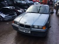 1992 bmw 318i 4dr saloon petrol 1.8L Silver BREAKING FOR SPARES