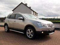 SEPTEMBER 2008 NISSAN QASHQAI DCI TENKA +2 *GREAT SPEC*