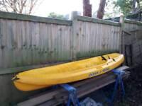 Ocean sit on kayak junior