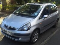 Honda Jazz 2003 Semi-Auto 7 Speed SE CV 1.4 Petrol MOT 25/11/2016 Metalic Silver Sunroof Alloys