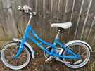 Girl's Blue 16 inch Victoria Pendleton bicycle