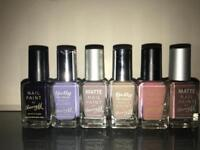 Barry M nail varnishes