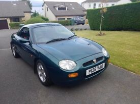 ✔️ 1996 MG MGF Sports w/ Removable hard top and Soft top with Cover.
