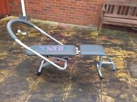 exercise bike tread mill work out bench all in v.g.c