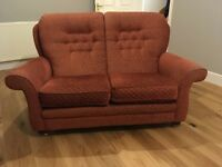 Vale two seater sofas x2