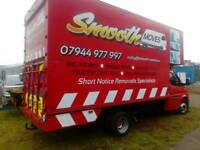 Removals Edinburgh last minute short notice cheap man and van