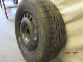 Steel Wheel with Pirelli P600 195/65R 15 tyre