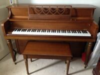 Kawai Piano and matching bench for sale - Very good condition