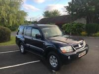 Mitsubishi Shogun 3.2 diesel Automatic 55 Reg 95k Lwb 7 seater 5 DOOR finance available *