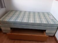 Myers Single bed with mattress & storage drawer