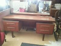 Iconic g plan dressing table /desk
