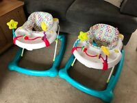 Mothercare baby walkers