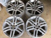"Set of 4 - Vauxhall 5 Stud - 17"" Alloy Wheels - SRI Wheels"